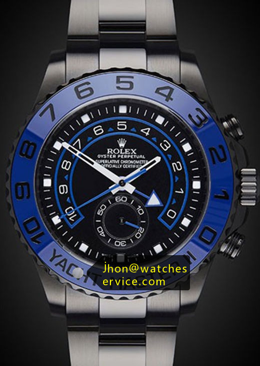 Replica Rolex Yacht-Master 116681 Blue PVD Watch