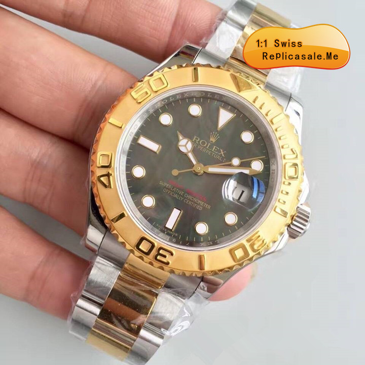 Replica Rolex Yachtmaster Black Face 2300A