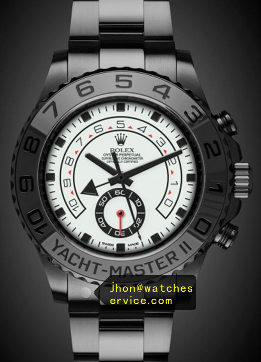 Replica Yacht-Master 116681 White Face PVD Watch