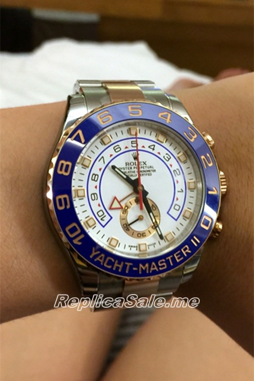 Rolex Yacht-Master 116681-78211 White Plate