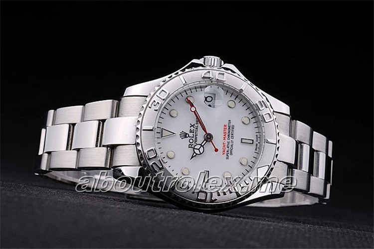 Rolex Yacht-Master-rl99 Replica Stainless steel push-in case back