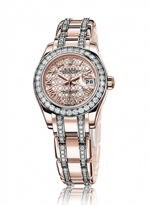 Why Buy Us Fake Rolex Ladies Log Type Pearl Ladies Watch